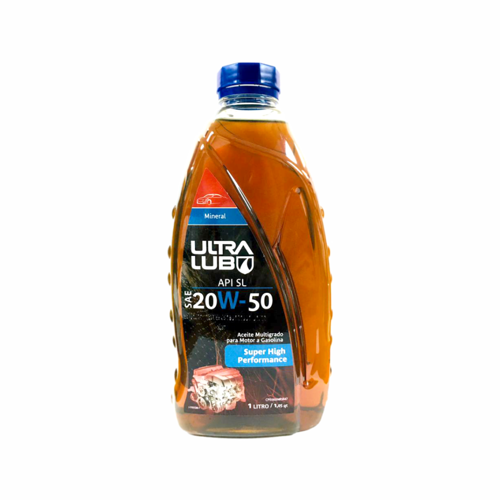 ACEITE SUPER HIGH PERFORMANCE 20W-50SL 1LT